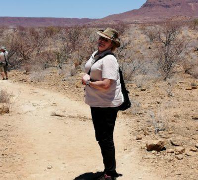 Caterina Migno guida safari professionista in-travel e IloveNamibia