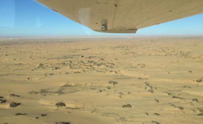 Sorvolo deserto Namib